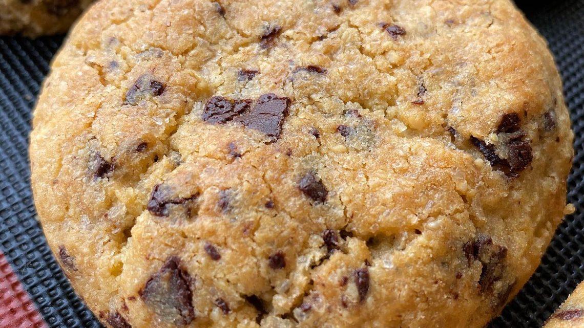 Cookies chocolat noir et blanc