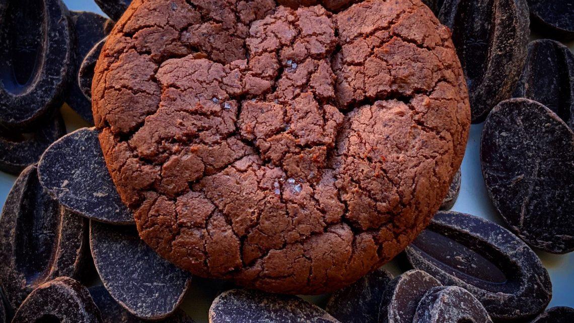 Cookies fudge chocolat noir guanaja 70 %