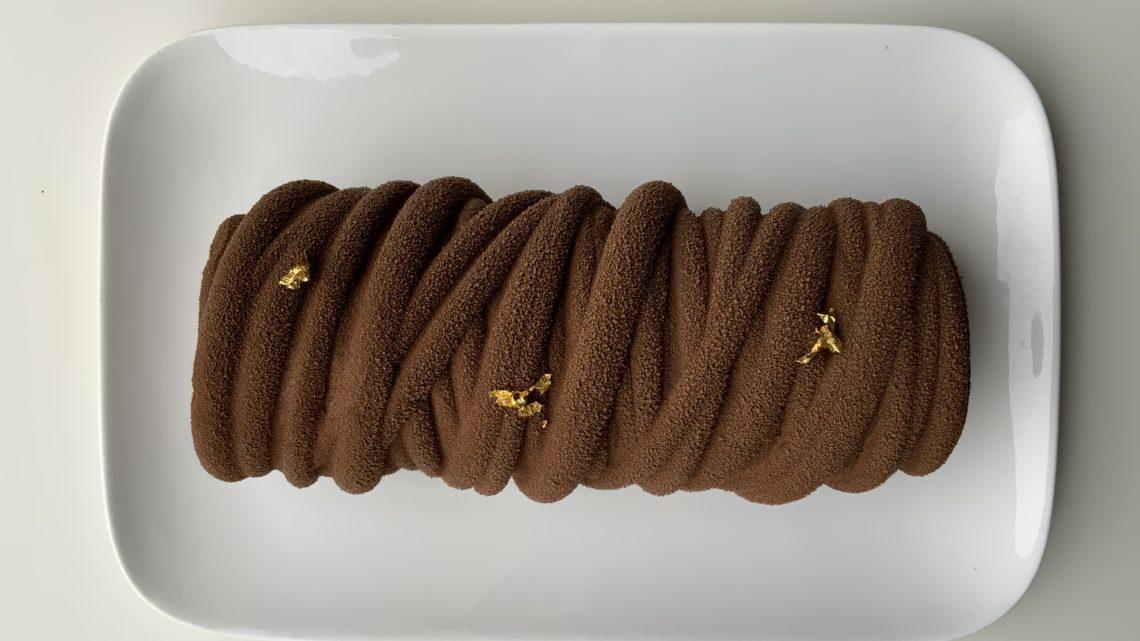 Bûche  LANA tout chocolat