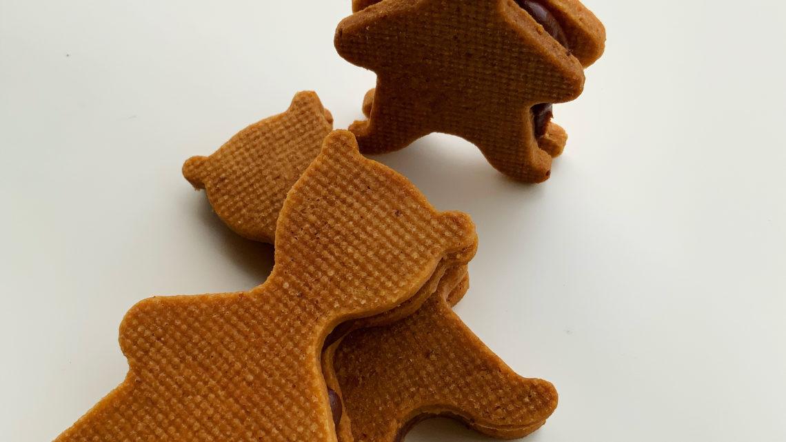 Biscuits nounours chocolat praliné